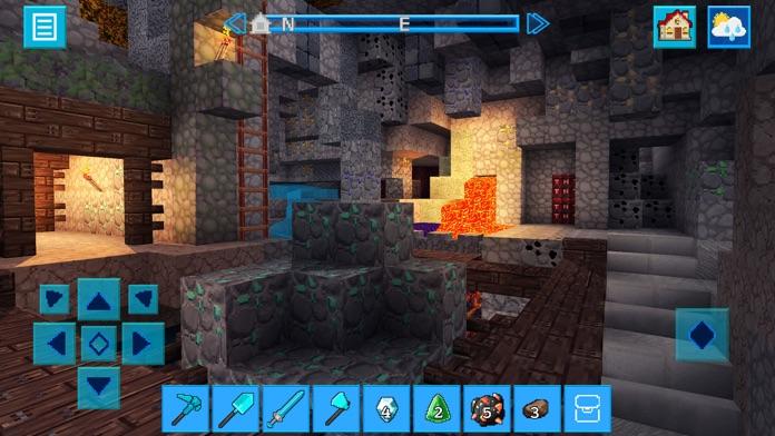 RealmCraft 3D: Survive & Craft Screenshot