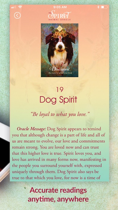 The Spirit Animal Oracle screenshot 5