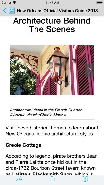 New Orleans Visitors Guide screenshot-6