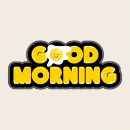 Good Morning Typography Emojis