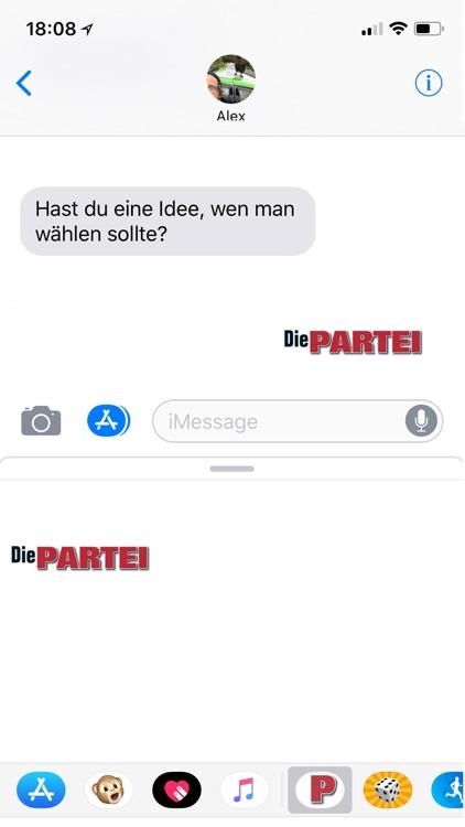 Die PARTEI - Die STICKER