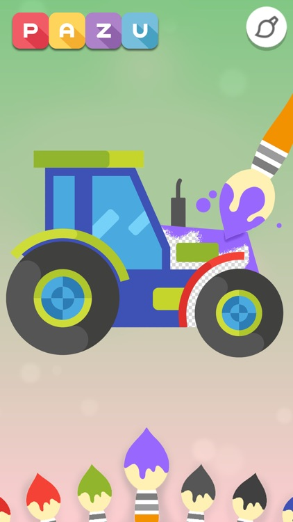 Coloring games - for toddlers screenshot-4
