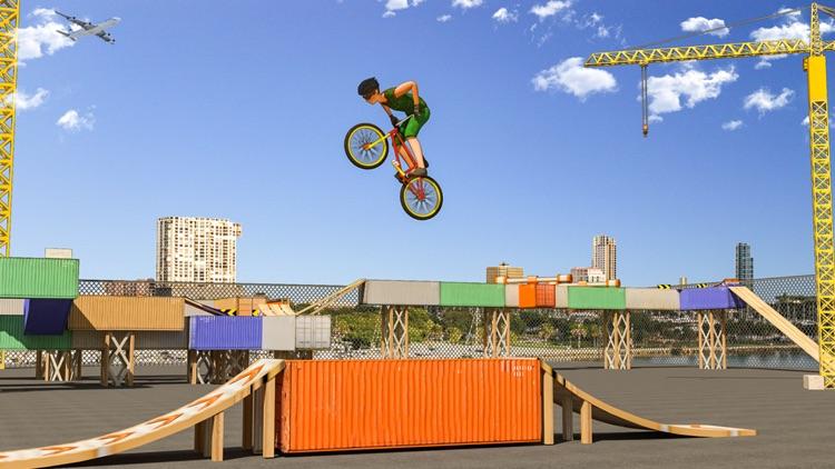 BMX Cycle Stunt Race screenshot-3