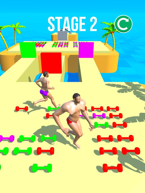 Muscle Race 3D screenshot 6