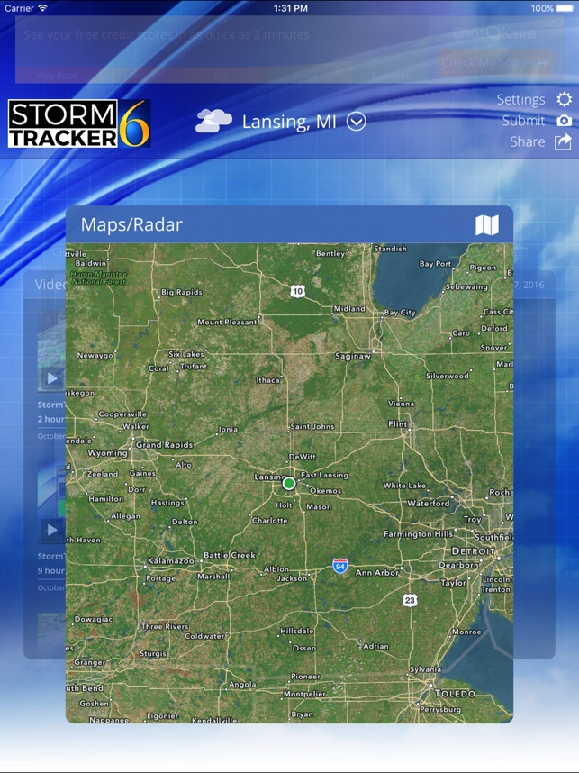 StormTracker 6 Weather First on