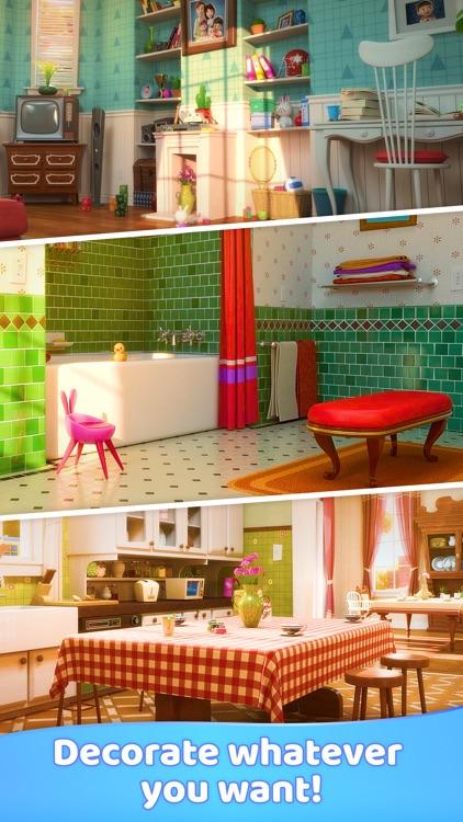Merge Decor Game: Home Design screenshot-3