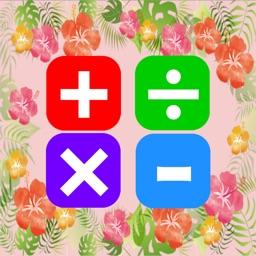 Cute Calculator - Flower