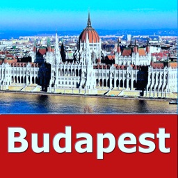 Budapest (Hungary) Travel Map