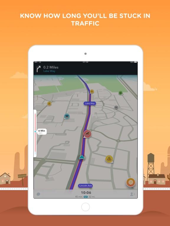 Waze Navigation & Live Traffic Screenshots
