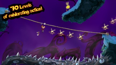 Screenshot from Rayman Jungle Run