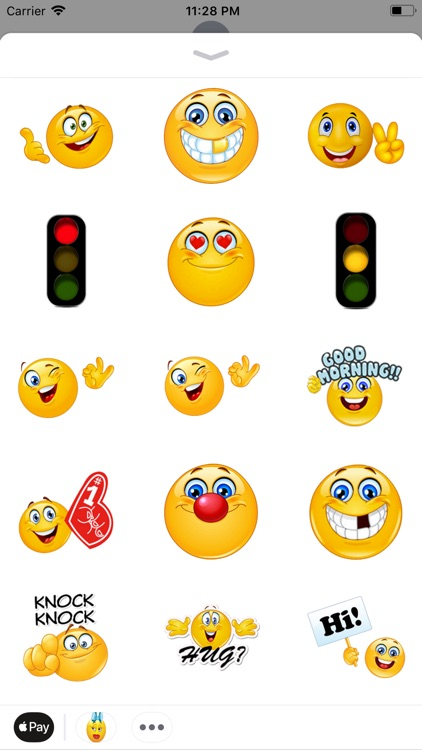 Adult 3D Emoticon Stickers
