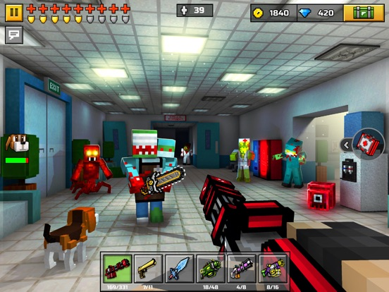 Скачать игру Pixel Gun 3D: Battle Royale