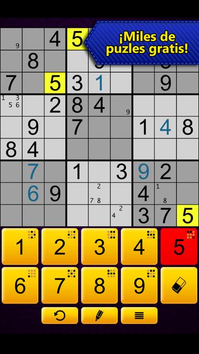 Sudoku EpicCaptura de pantalla de5