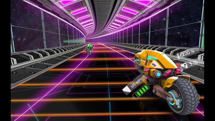 Futuristic Bike Racing Rider screenshot-4