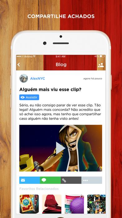 Entre Clãs Amino em Português screenshot two