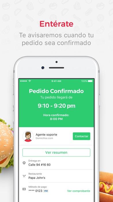 Screenshot for Domicilios.com: Pide Domicilio in Ecuador App Store