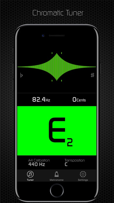 Chroma Tuner & Metronome Screenshots