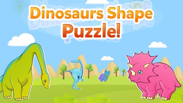Dinosaur Shape Puzzle Lite