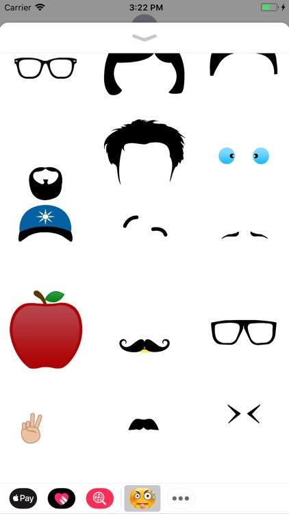 Emoji Maker Stickers FunnyMoji screenshot-4