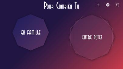 Pour Combien Tu - Jeu soirée screenshot one