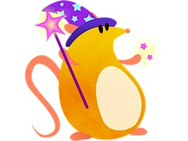 Funny Mouse MouseMoji Sticker