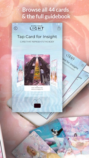Work Your Light Oracle Cards on the App Store