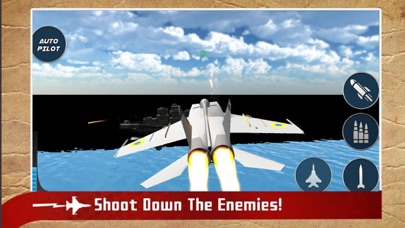 Real Jet Fighter: Sky Shooting screenshot two