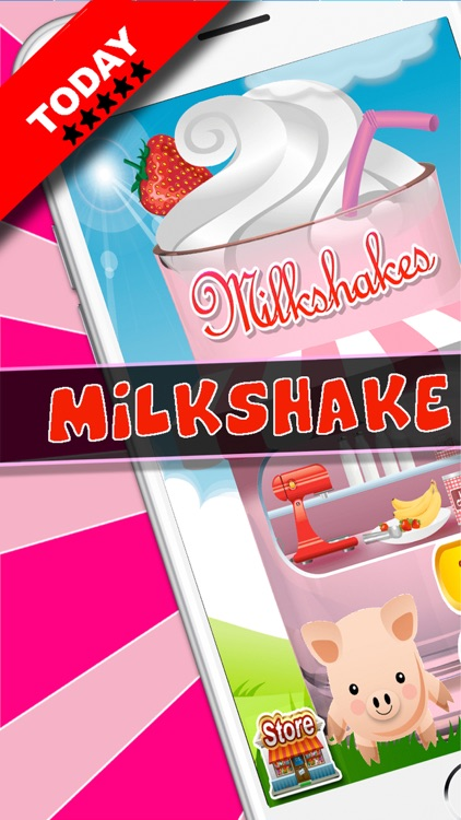 Milkshake Dessert Maker Truck screenshot-0