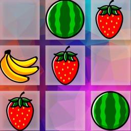 Fruit Lines: шарики пять в ряд