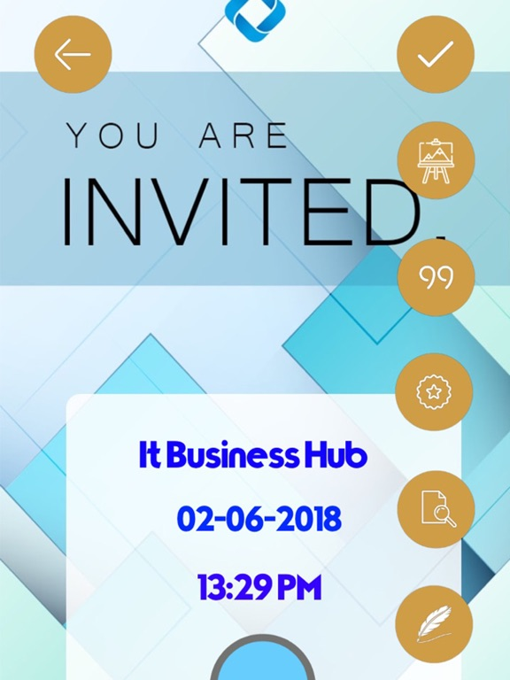 Business Invitation Cards Hd App Price Drops