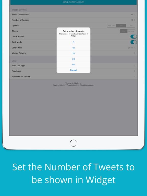 Tweety Pro Widgets for Twitterのおすすめ画像4