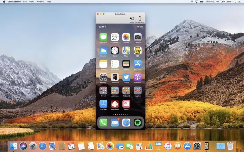 QuickScreen Screenshot - 1