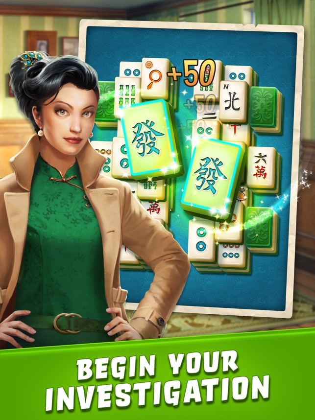 ‎Mahjong Crimes Screenshot