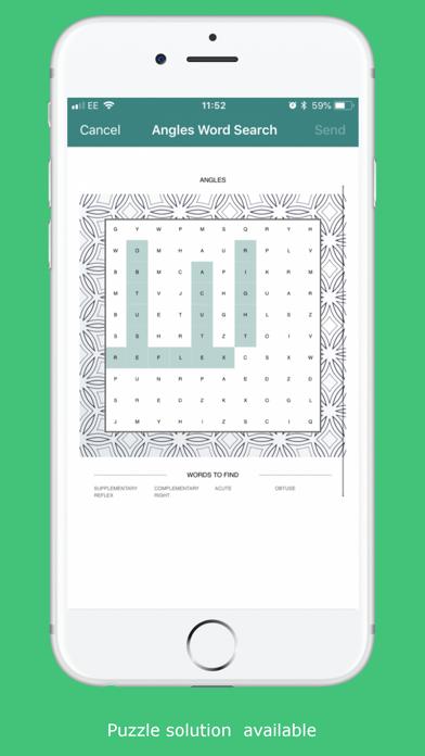Word Search Puzzle Generator screenshot 5