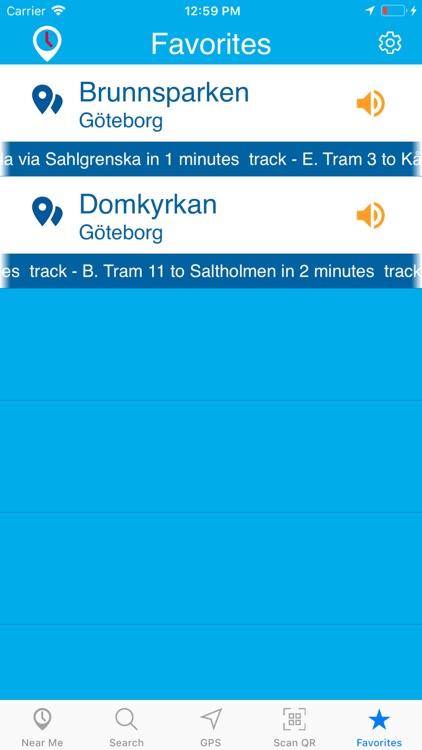 Timespot for Västtrafik screenshot-5