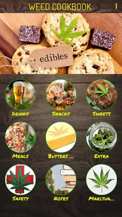 Mega Weed Cookbook Screenshots