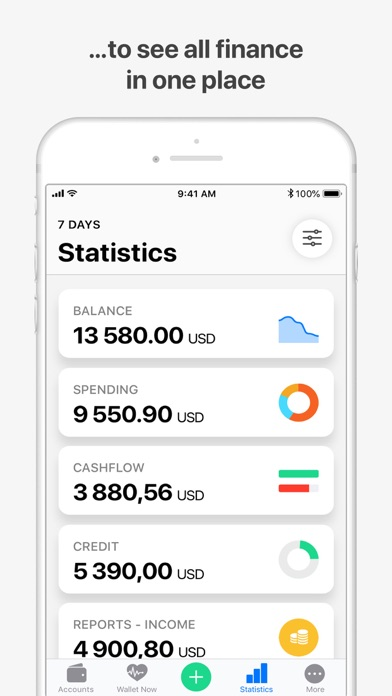 Wallet:個人財務&金銭追跡のスクリーンショット3