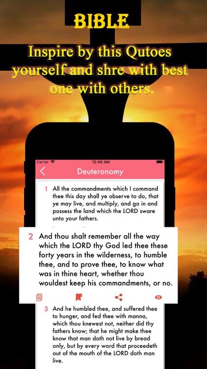 Bible Inspirational screenshot-5