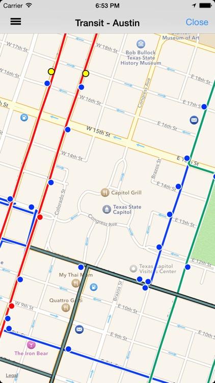 Transit Tracker - Austin screenshot-3