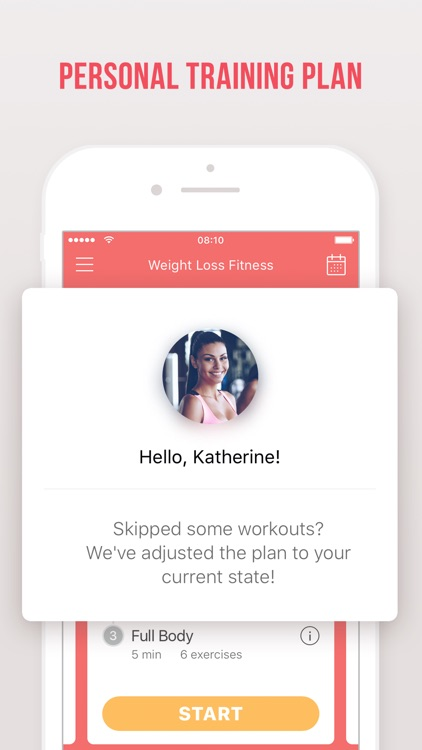 Weight Loss Fitness by Verv screenshot-4