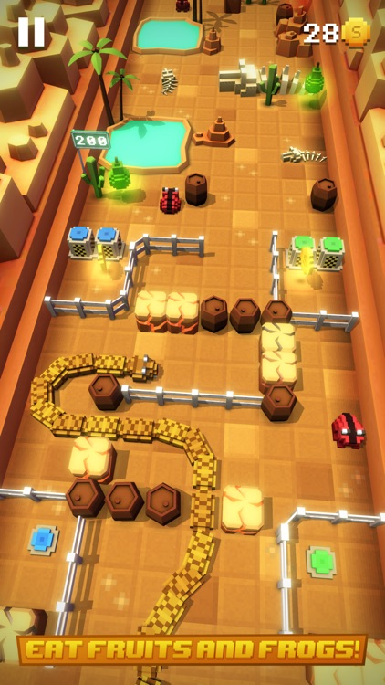 Blocky Snakes screenshot-3