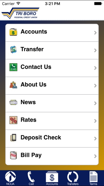 TRI BORO FCU Mobile screenshot-0