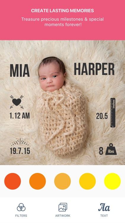 Baby Pics+ | Photo Editor screenshot-3