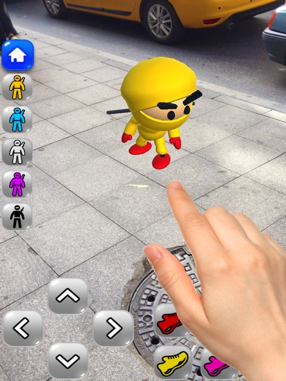 Screenshot 1 Ninja Kid AR: Augmented Action