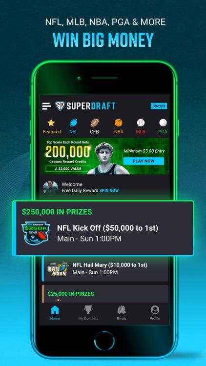 SuperDraft Fantasy Sports App screenshot-3