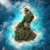 Richard Charpentier - Block Island Today.  artwork