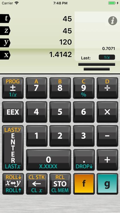 Active RPN Calculator screenshot-3