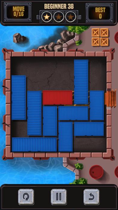 コンテナブロックパズルのブロックを解除するスクリーンショット1