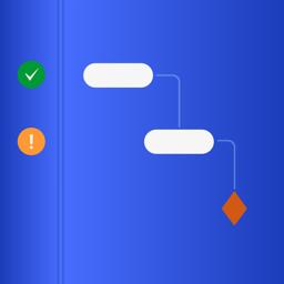 Ícone do app QuickPlan, Project Gantt Chart