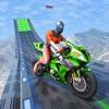 スーパーヒーロー 自転車 レーシング ゲームアイコン